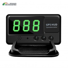 Universal Car HUD GPS Speedometer Head-Up Display Windshield Digital Speed Projector Overspeed Alarm